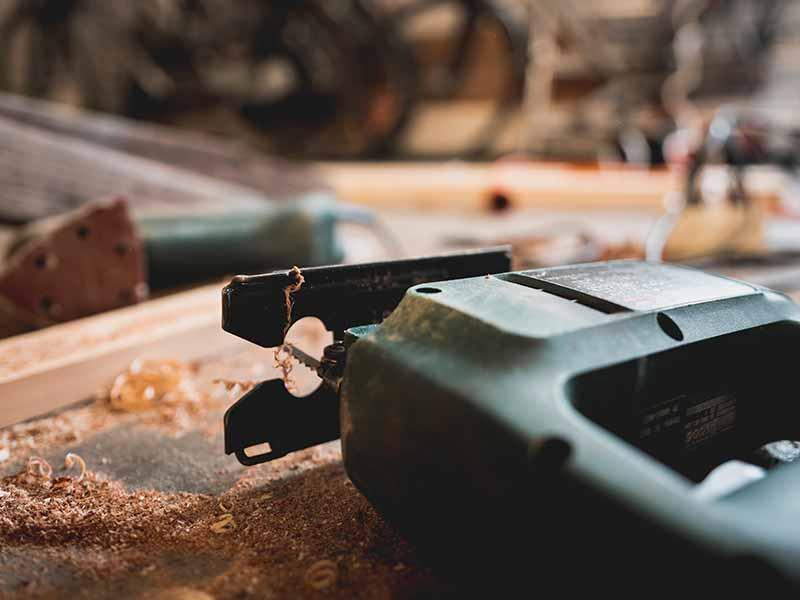 Werkzeug Stichsäge